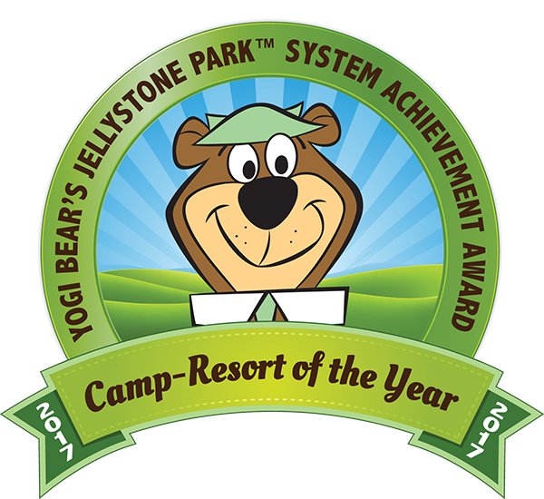 Jellystone Park 2017 Camp-Resort of the Year Award