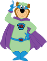 Yogi Bear Superhero