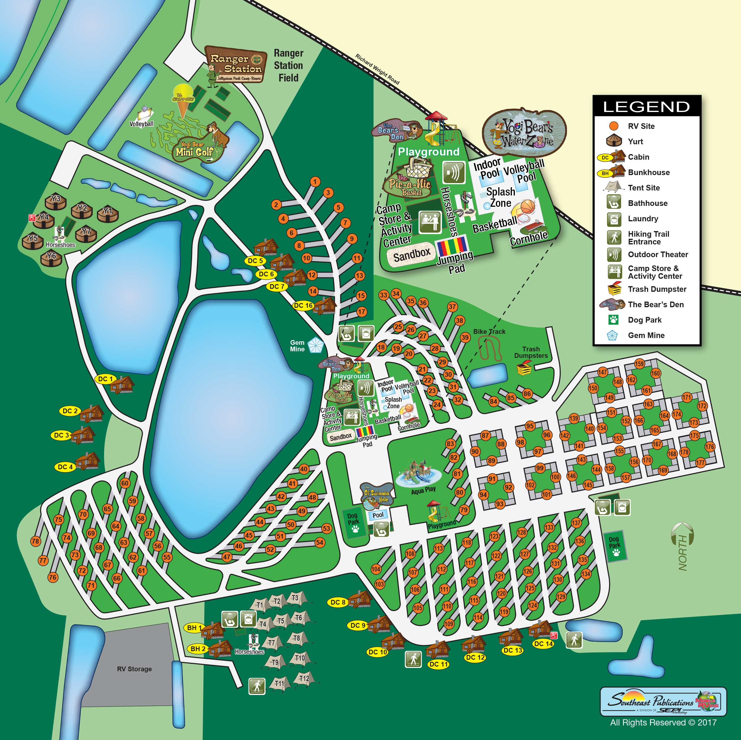 About Us View Park Map Yogi Bear S Jellystone Park At Daddy Joe S